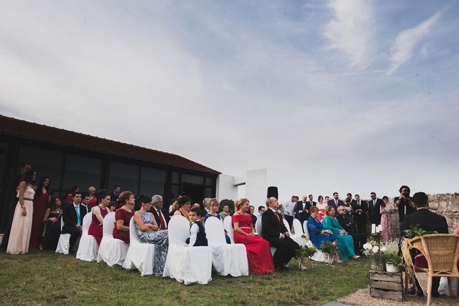 Boda civil en Suances. El Faro del Torco.