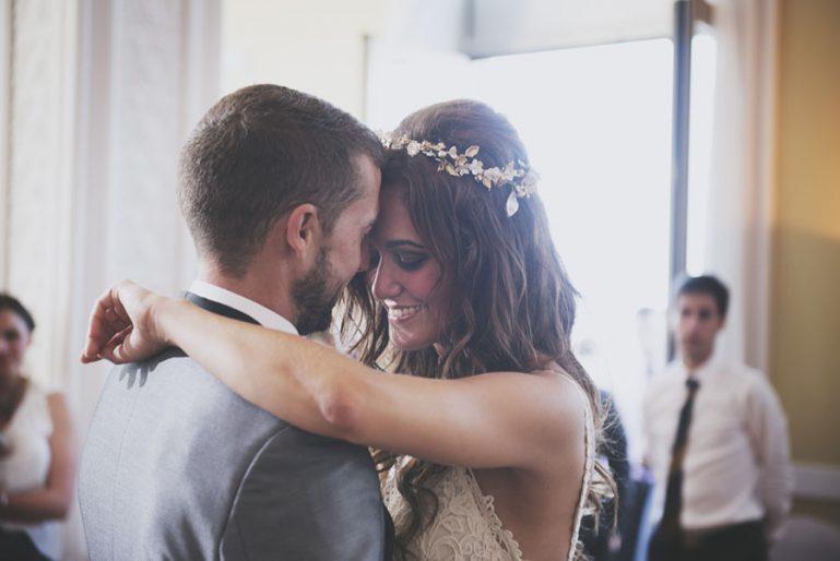 La boda en Santander de María y Fredo