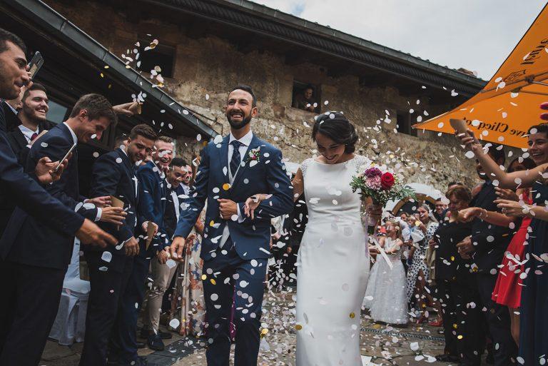Reportajes de boda. Fotografía de novios.