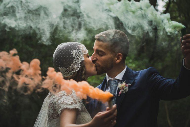 La boda en San Román de Escalante de Saray y Aingeru