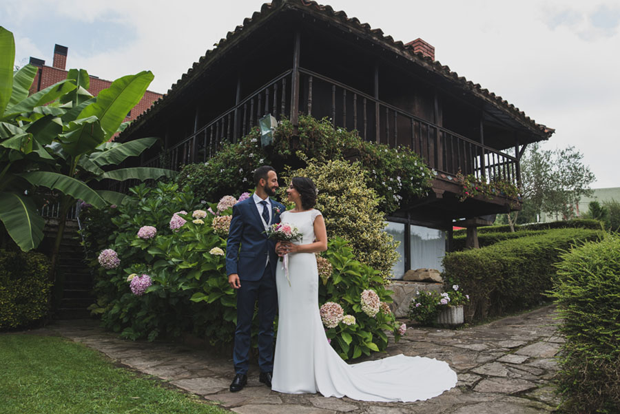Fotógrafo de bodas. Puente Arce.